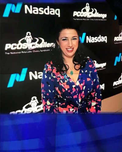 At NASDAQ for PCOS Challenge